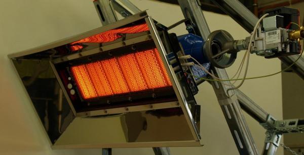 Сибирские разработчики предлагают использовать на предприятиях газовые инфракрасные излучатели