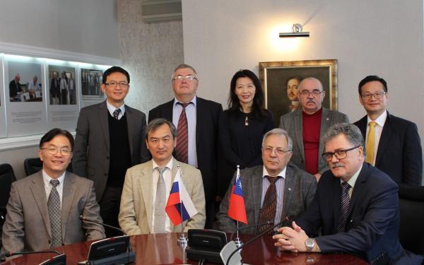Академгородок посетила делегация Министерства науки и технологий Китайской Республики (Тайвань)