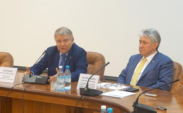 Состоялась первая пресс-конференция нового руководства СО РАН