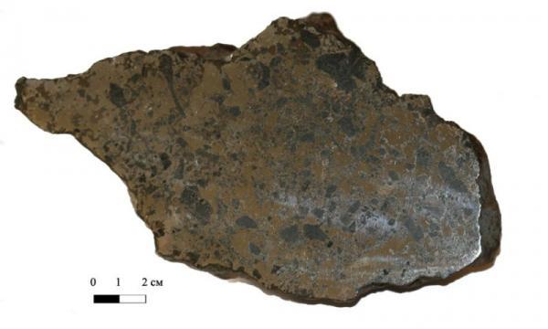 Студент НГУ получил медаль РАН за исследование редкого метеорита