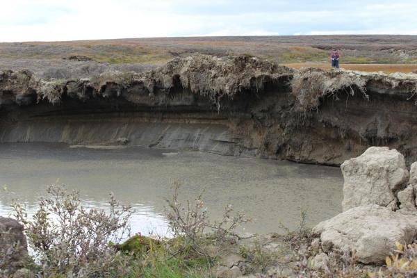 Как кратер превратился в водоем