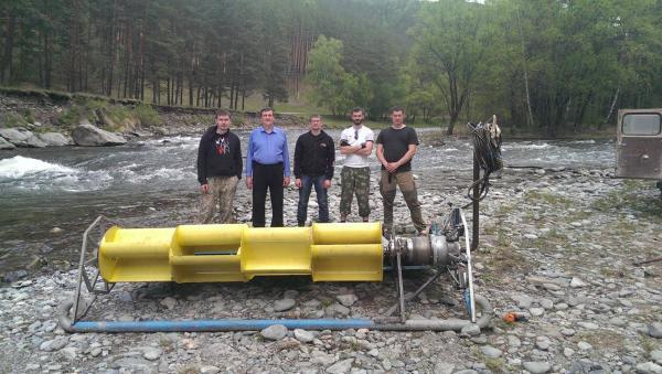 Энтузиасты Новосибирского Академгородка работают над экологически безопасными способами использования энергии горных рек