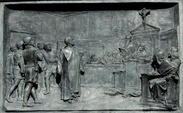За что инквизиция казнила Джордано Бруно?