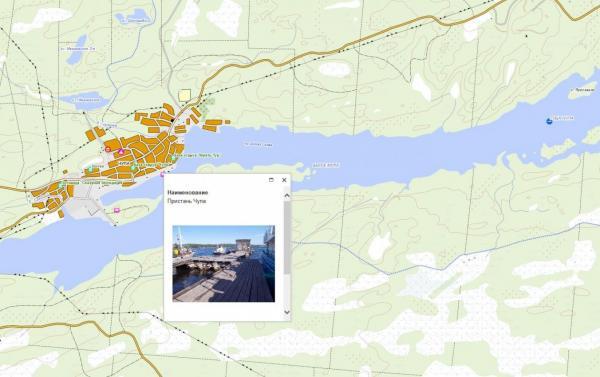 Дата Ист выпустила интерактивную карту островов Белого моря - Чупинской губы