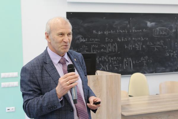 Академик Сергей Алексеенко изложил тезисы своей программы в качестве кандидата на должность председателя СО РАН