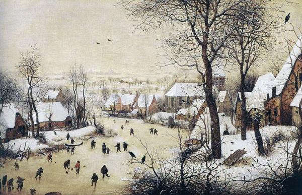 О чем свидетельствуют сказки Андерсона, зимние пейзажи Брейгеля и старинные хроники?