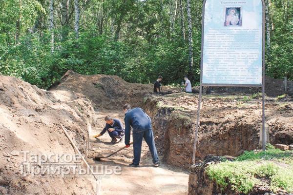 Завершен поиск остатков фундамента Тихвинской церкви