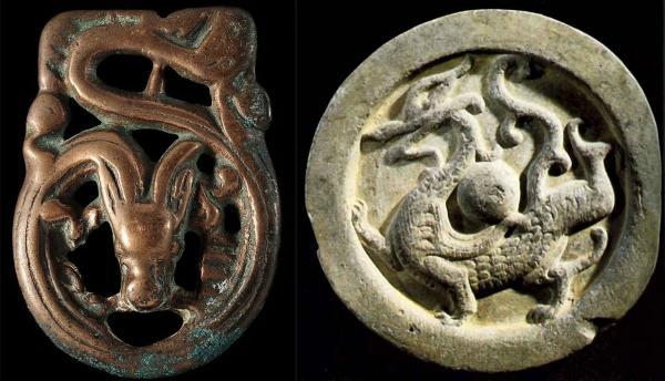 На территории Южной Сибири сформировался оригинальный взгляд на это мифическое существо, не связанный с китайской традицией