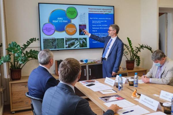Министр науки и высшего образования РФ провел совещание в ФИЦ ИЦиГ СО РАН