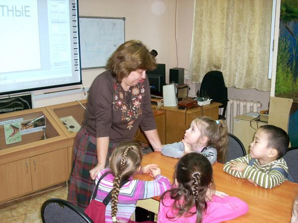 В Лаборатории экологического воспитания ИЦиГ СО РАН ученые находят общий язык даже с дошкольниками