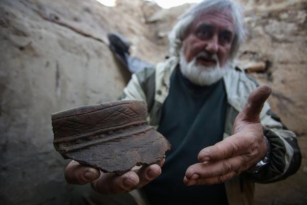 Археологи нашли в Новосибирске сосуд возрастом в 2,5 тысячи лет