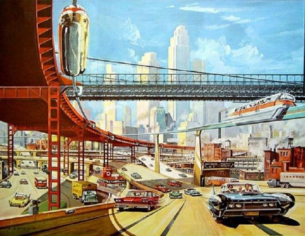 Продолжаем вспоминать, каким видели будущее жители века ХХ-го