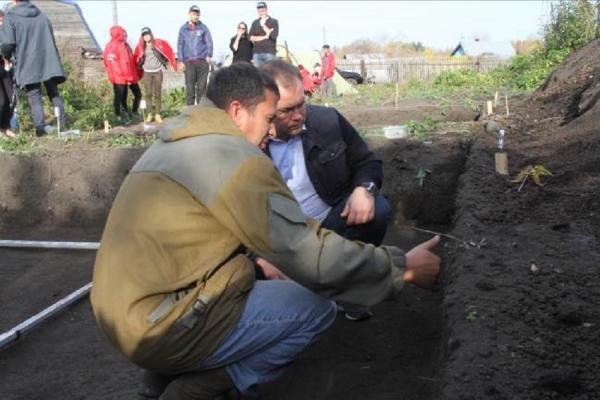 В столице Кузбасса археологи раскопали уникальные артефакты XVIII века