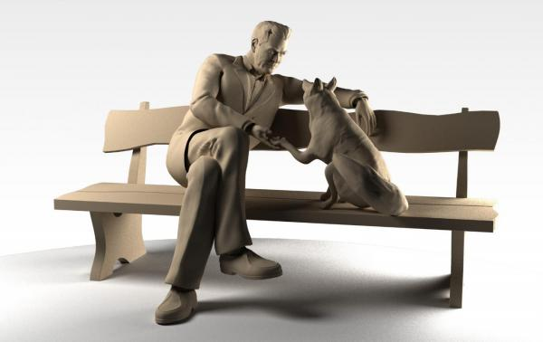 Возле Института цитологии и генетики появится скульптурная группа, посвященная академику Беляеву