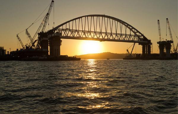 Ученые подтвердили безопасность Крымского моста для окружающей среды