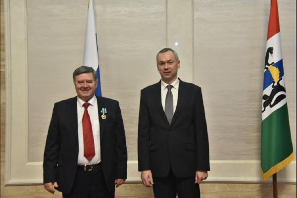 И.о. губернатора Новосибирской области Андрей Травников провел торжественную церемонию, посвященную Дню российской науки
