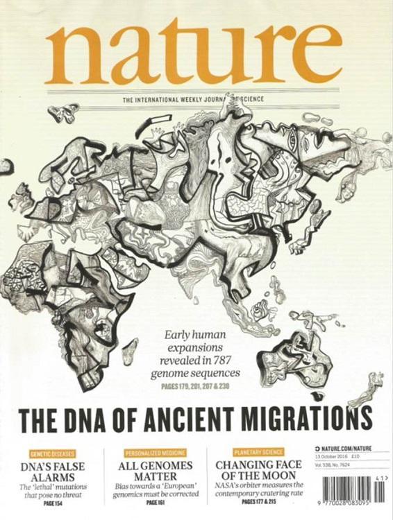 Новосибирские ученые выступили соавторами двух статей, вышедших в октябрьском номере журнала Nature, в которых анализируются результаты недавно законченного секвенирования большого количества геномов из многих популяций мира