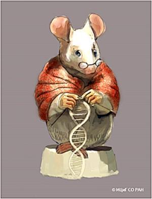 Над образом мыши работал новосибирский художник Андрей Харкевич