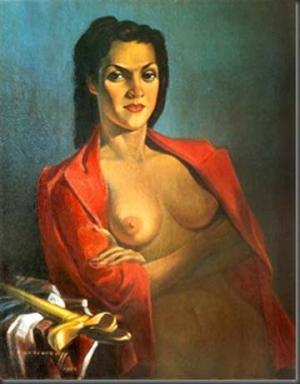 Знаменитый портрет Леоноры Молтемо