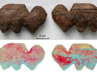 Сибирские археологии исследовали палеохудожественные изделия из бивня мамонта