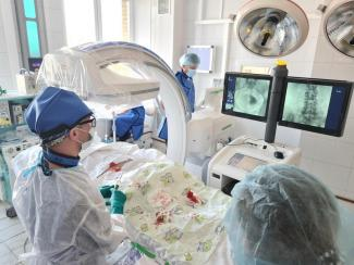 Аппарат С-дуга с возможностью 3D-визуализации поступил в клинику НИИКЭЛ