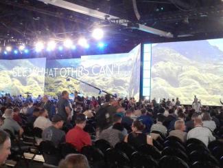 «Дата Ист» представилаИТ-разработки на Международной конференции пользователей Esri в Сан-Диего