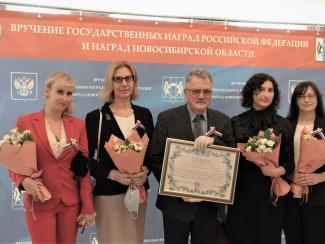 Коллектив ученых НИИТПМ награжден государственной премией