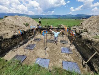 Мюонные детекторы, разработанные в ИЯФ для гамма-обсерватории TAIGA, прошли проверку