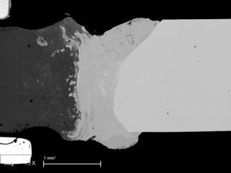Ученые увеличили прочность шва сварного соединения титана и алюминия более чем в два раза