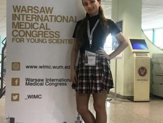 Сотрудница ИЦиГ стала дипломантом международной конференции в Варшаве