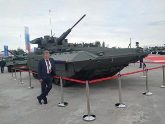 Институты СО РАН приняли участие вМеждународном военно-техническом форуме «Армия»
