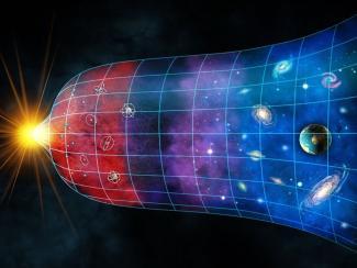 Учёные смоделировали поведение границ между областями материи и антиматерии в ранней Вселенной