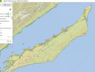"""Компания """"Дата Ист"""" выпустила интерактивную карту острова Ольхон"""