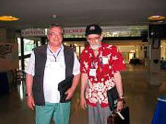 Доктор ф.-м. наук В.А. Васильев с лауреатом Нобелевской премии по экономике за 2012 год математиком Ллойдом Шепли