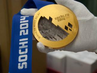 Олимпийское золото «куëтся» в SolidWorks