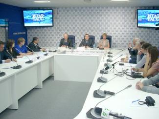В Пресс-центре «ИТАР-ТАСС Сибирь» состоялся «круглый стол» на тему «Наука для решения транспортных проблем»