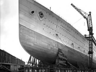 "Спуск на воду лайнера ""Нормандия"""