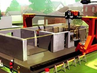 Один робот заменит бригаду строителей