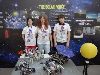 Команда КЮТ завоевала победу в номинации «Лучшее достижение. Самый актуальный проект» на Всемирной олимпиаде по робототехнике WRO2014