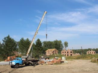Жилищно-строительные кооперативы СО РАН продолжают строительство новой очереди новосибирского Академгородка