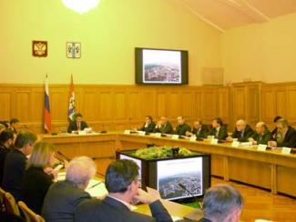 Репортаж с заседания Совета при губернаторе Новосибирской области