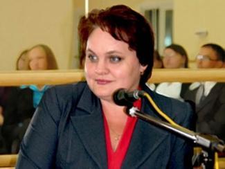 Министр образования Ульяновской области Екатерина Уба.