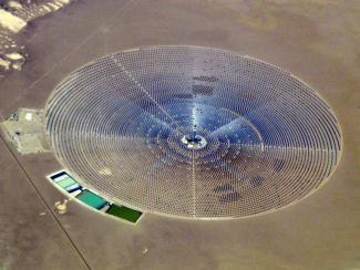 Поучительная историясолнечной тепловой электростанции Crescent Dunes