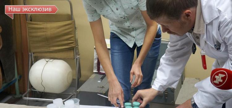 Для чего в Институте ядерной физики облучают речных рачков